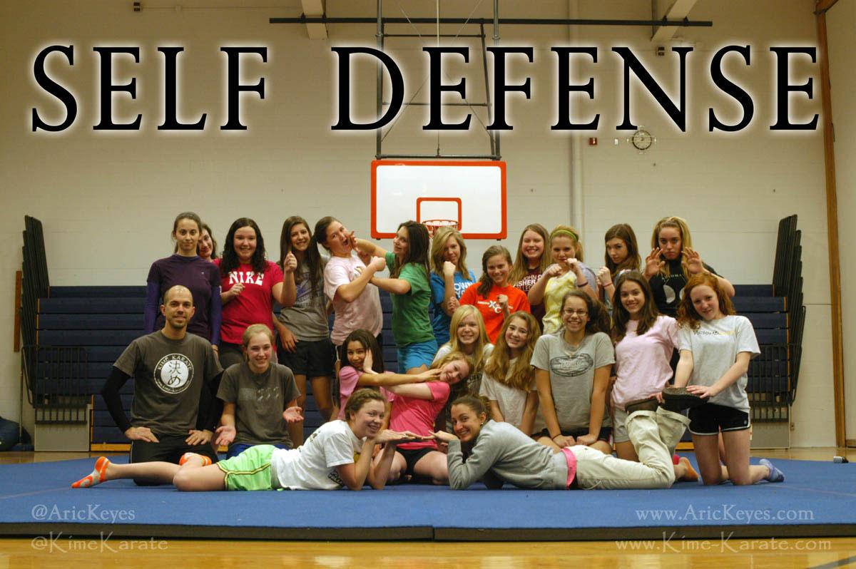 Girls Self Defense Breakdown