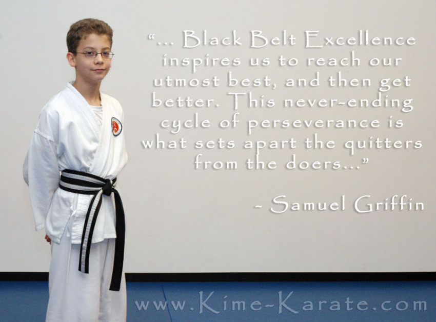 What is Black Belt Excellence?