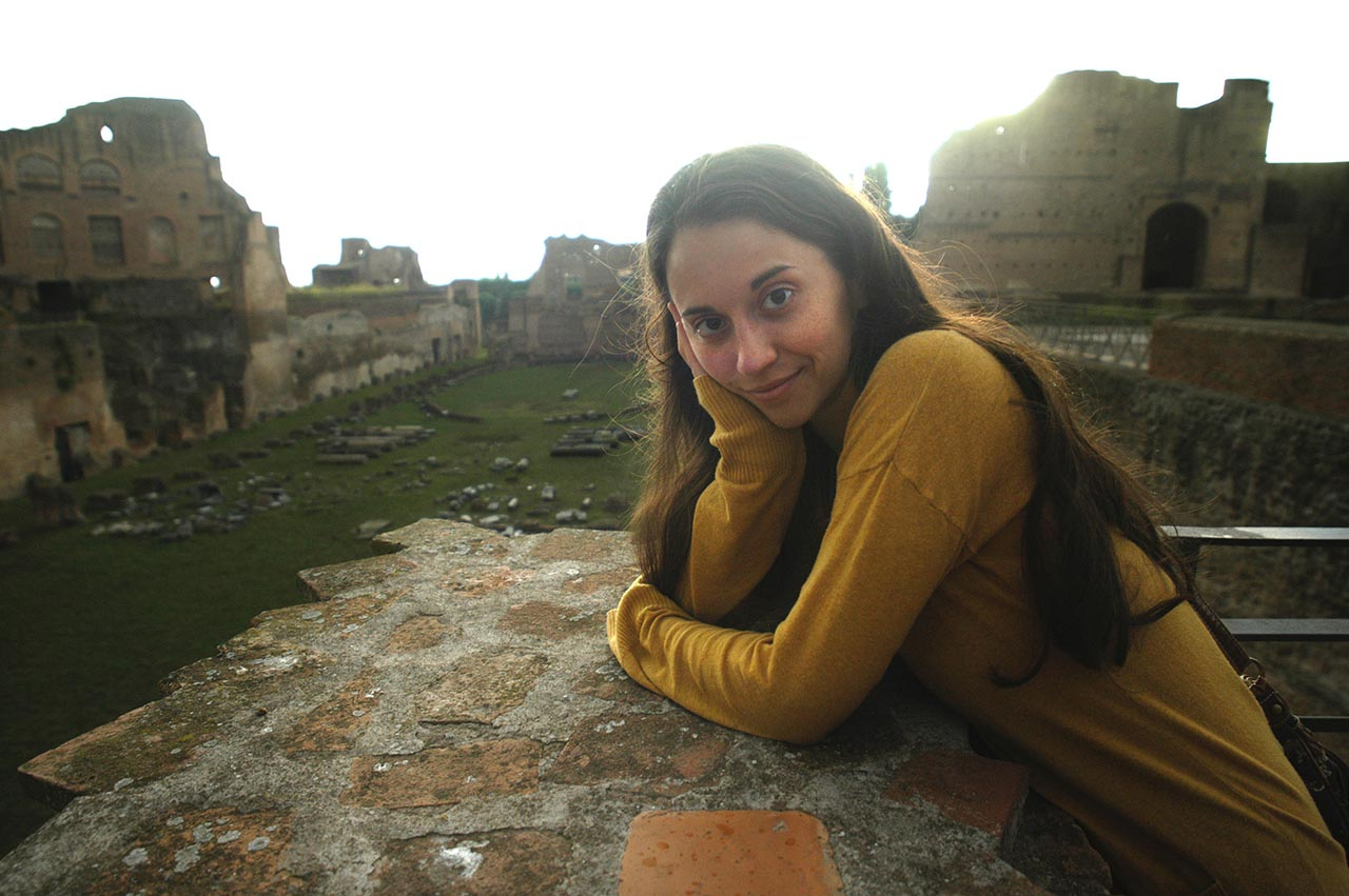 Pamela in Rome